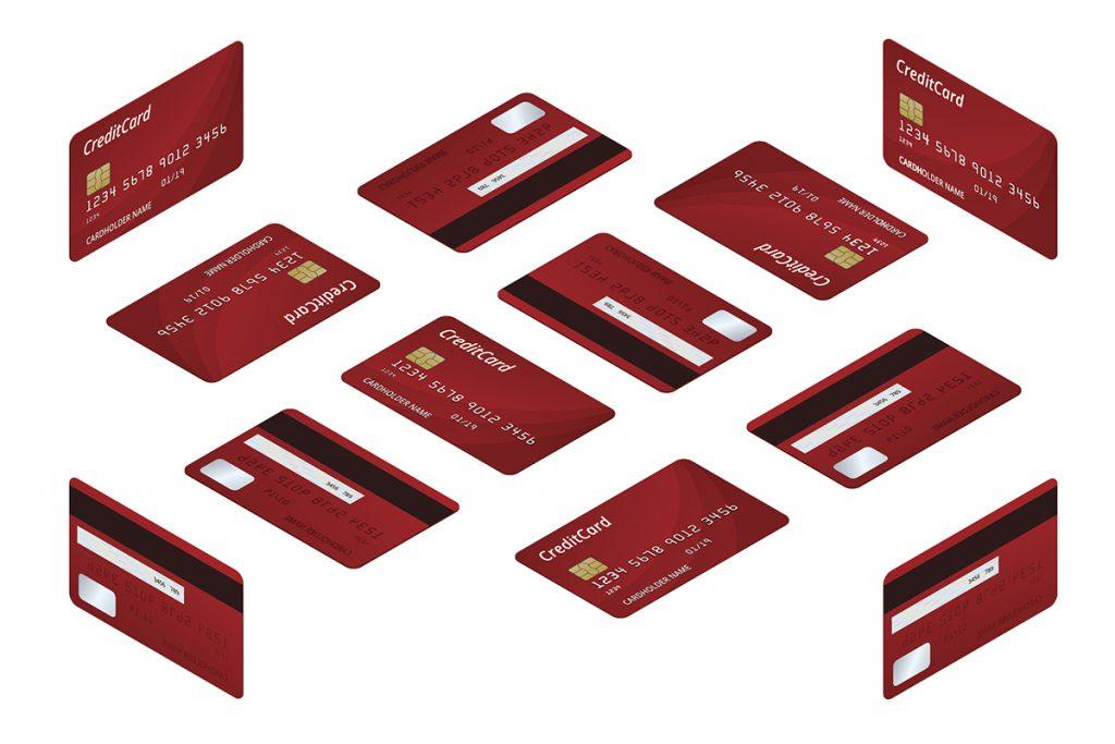 プラスチックカードのサイズ